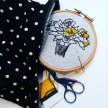 Embroidery - Make your own wall hanging image