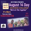 """August 14 Day Challenge """"We're in This Together"""" image"""