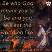 Firelight Silent Retreat for Young Adults image