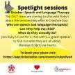 Spotlight information session- Speech & Language 8-9pm on TEAMS image