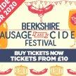 Sausage & Cider Fest - Berkshire image