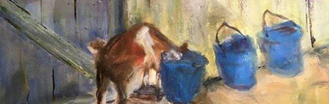 Plein Air with Catherine - Painting Among Alpacas