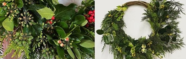 Christmas Wreath Making & Cream Tea