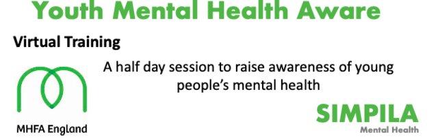Youth Mental Health Aware Half Day (Simon Millington) - Only £100 + VAT