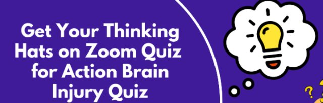 Get your Thinking Hats on Zoom Quiz