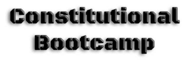 Constitutional Bootcamp - Ellis