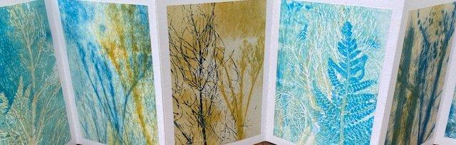 Botanical Books - Gelli and Monoprinting [Ref: #479 #5214]