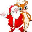 Meet Santa and His Reindeer image