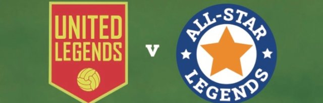 United Legends v Allstars Football Match