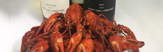 The Food Gatherer Presents... A summer lunch with Crayfish Bob at Forty Hall Vineyard