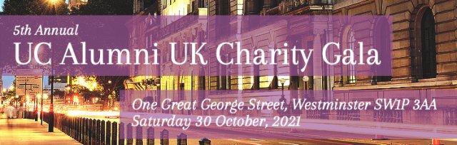 5th Annual UC Alumni UK Charity Gala