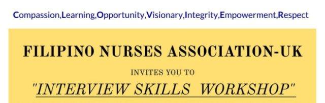 FNA-UK Interview Skills Workshop