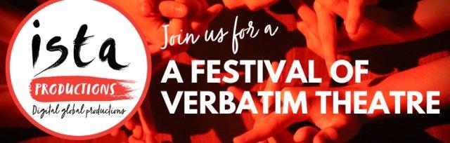 A festival of verbatim theatre