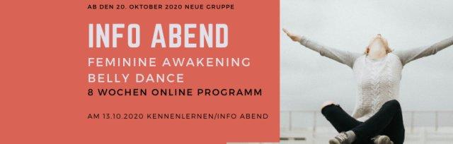 Info/Kennenlernen Online Abend - Feminine Awakening Belly Dance