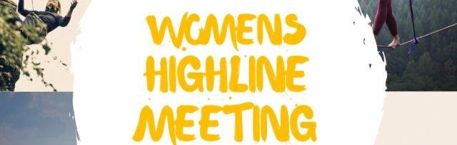 Womens Highline Meeting X
