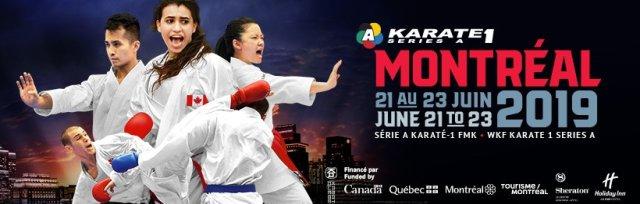 WKF Karate 1 – Series A Montreal