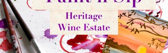 Paint'n'Sip Hertiage  Estate Wine Stanthorpe