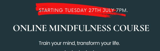 6-Week Online Mindfulness Training Course