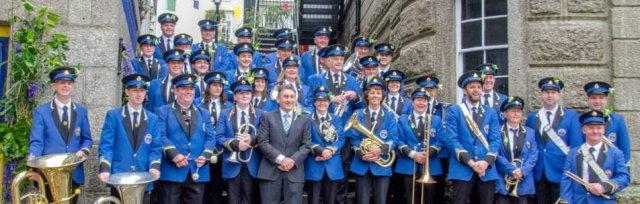 St Ives September Festival : 'Helston Town Band' : 'Last Night of the Proms'