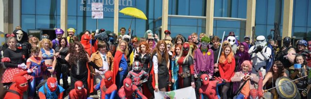 Plymouth Comic Con and Gaming Festival