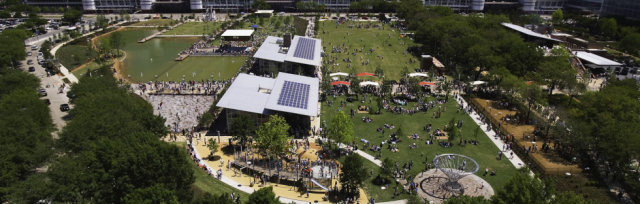 Discovery Green Welcome Event