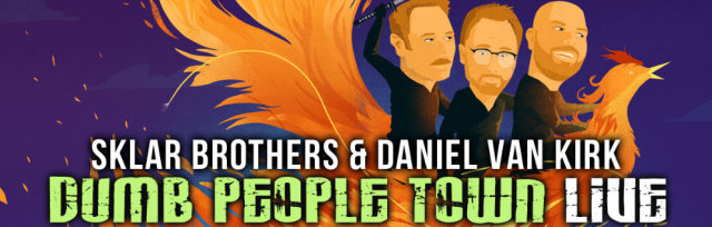 Dumb People Town Live with The Doughboys Podcast & Chris Thile