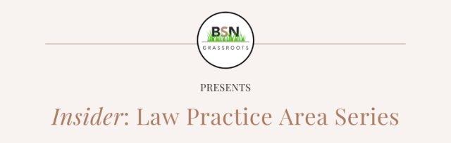 Insider: Law Practice Area Series, Criminal Law, 8 April @ 6pm