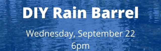 DIY Rain Barrel Workshop