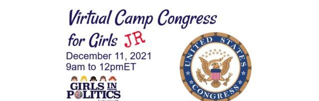 Virtual Camp Congress for Girls JR
