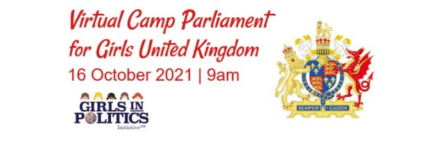 Virtual Camp Parliament for Girls United Kingdom