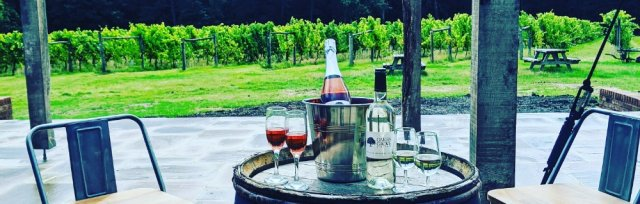 English Wine and Cheese at Oaken Grove Vineyard