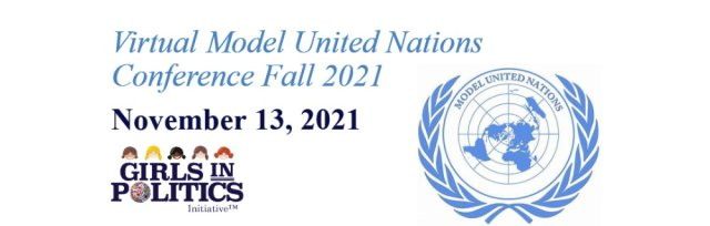 Virtual Model United Nations Conference Fall 2021