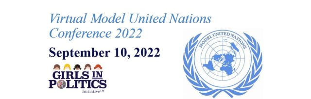 Virtual Model United Nations Conference 2022