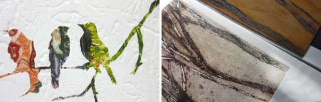 Multilayered Collagraph Weekend with Pam Hardman and Isabel Carmona [Ref#5194]