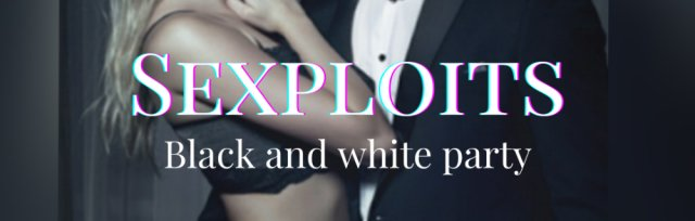 Sexploits black and white party