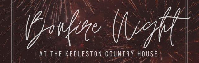 Bonfire Night at The Kedleston Country House