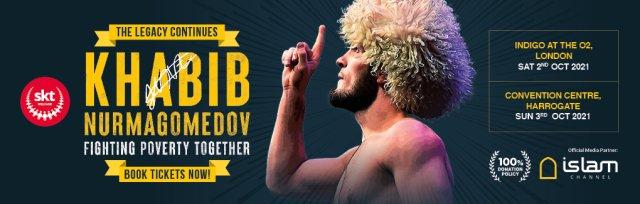 Harrogate - Khabib NurMagomedov - The Legacy Continues - SKT Welfare fundraiser