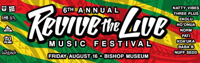 Revive The Live Music Festival