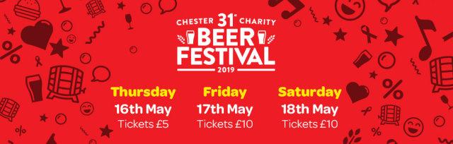 31st Chester Charity Beer Festival