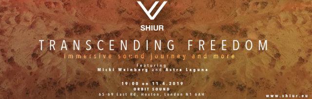 SHIUR Transcending Freedom