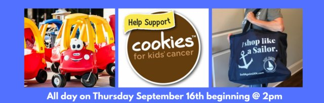 Sail Again's Cookies for Kids Cancer Pre-Sail