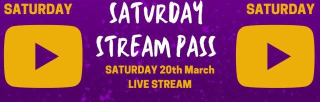 Saturday Live Stream Pass @ GIGFEST