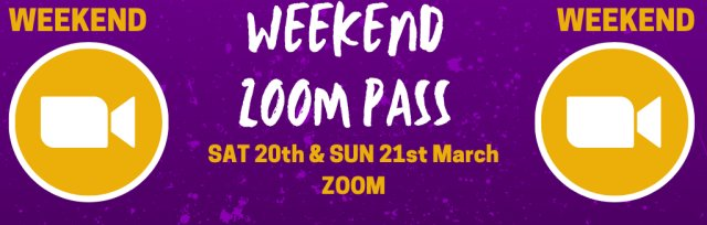 Weekend Zoom Pass @ GIGFEST [SOLD OUT]
