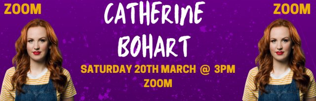 Catherine Bohart @ GIGFEST (Zoom) [SOLD OUT]