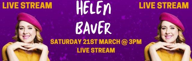 Helen Bauer @ GIGFEST (Live Stream)