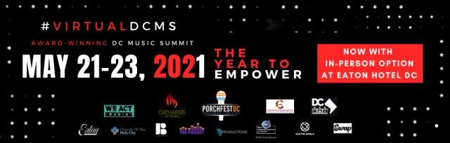 VIRTUAL DC MUSIC SUMMIT 2021 (THREE DAY EVENT)