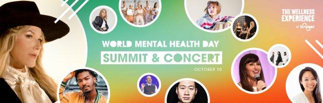 World Mental Health Day Summit & Concert