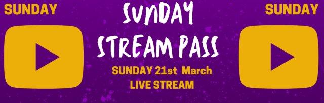 Sunday Live Stream Pass @ GIGFEST