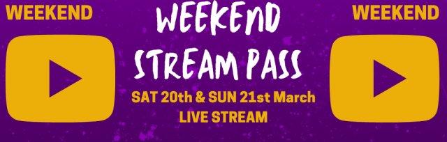 Weekend Live Stream Pass @ GIGFEST