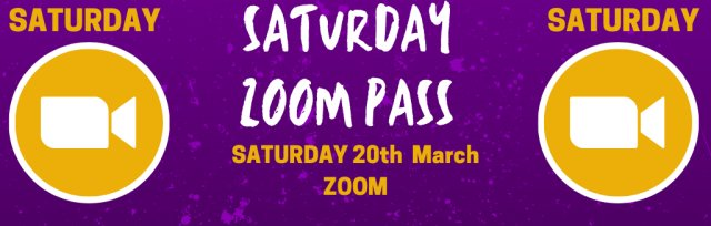 Saturday Zoom Pass @ GIGFEST [SOLD OUT]